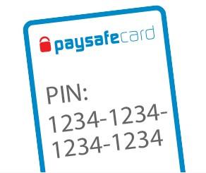 paysafecard pin
